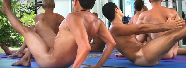 Already discussed naked yoga men consider, that